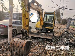 河南-安阳市二手现代R55-7挖掘机实拍照片