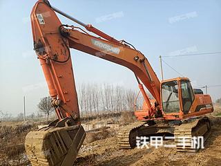 濱州斗山DH300LC-7挖掘機實拍圖片