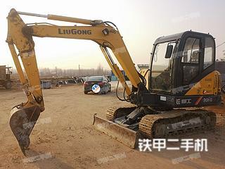 百色柳工CLG906D挖掘機實拍圖片