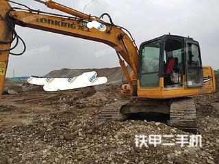四川-成都市二手龙工LG6150挖掘机实拍照片