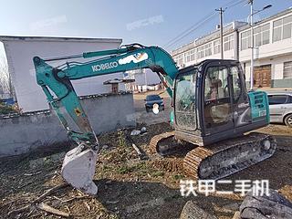 安徽-滁州市二手神钢SK75-8挖掘机实拍照片