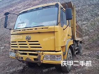 福田歐曼6X2工程自卸車實拍圖片