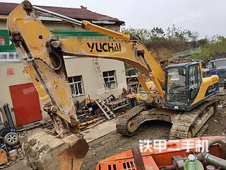 保定玉柴YC360LC-8挖掘機實拍圖片