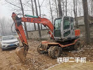 北京新源XY65W-7挖掘機實拍圖片
