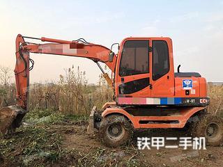 北京新源XY75W-8挖掘機實拍圖片