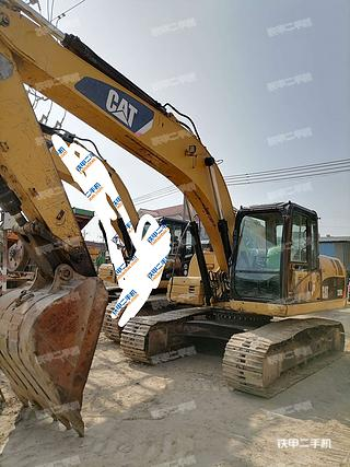 广东-肇庆市二手卡特彼勒320D液压挖掘机实拍照片