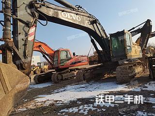 宁夏-吴忠市二手沃尔沃EC360BLC挖掘机实拍照片
