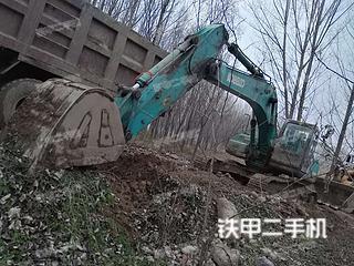 陕西-咸阳市二手神钢SK250-8挖掘机实拍照片
