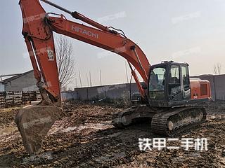 濱州日立ZX200-3挖掘機實拍圖片