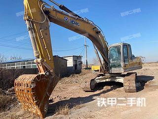 徐工XE265C挖掘機實拍圖片