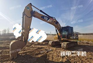 北京卡特彼勒320D液壓挖掘機實拍圖片