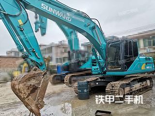 贵州-贵阳市二手山河智能SWE215E-3H挖掘机实拍照片