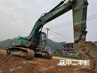 浙江-衢州市二手神钢SK210LC-8挖掘机实拍照片