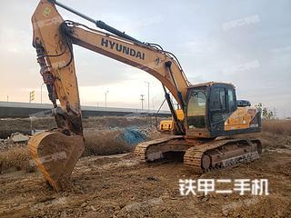河南-郑州市二手现代R225LVS挖掘机实拍照片