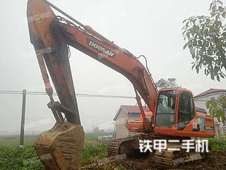 斗山DH215-9E挖掘機實拍圖片