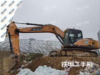 陕西-汉中市二手三一重工SY235C挖掘机实拍照片