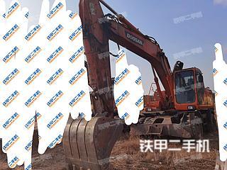 河北-秦皇岛市二手斗山DH210W-7挖掘机实拍照片