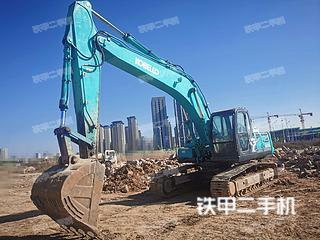 昆明神鋼SK260LC-8挖掘機實拍圖片