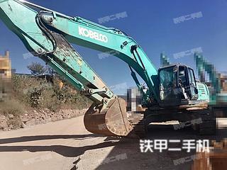 昆明神鋼SK350LC-10挖掘機實拍圖片