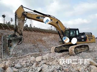 贵州-黔南布依族苗族自治州二手卡特彼勒336D2液压挖掘机实拍照片