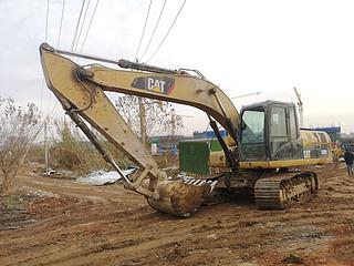 二手卡特彼勒挖掘机左前45实拍图224
