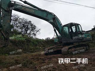 四川-眉山市二手神钢SK250-8挖掘机实拍照片
