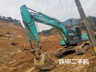 湖北-宜昌市二手神钢SK210LC-8挖掘机实拍照片