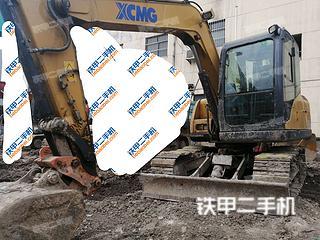 陕西-西安市二手徐工XE75D挖掘机实拍照片