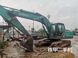 湖南-怀化市二手神钢SK210LC-8挖掘机实拍照片