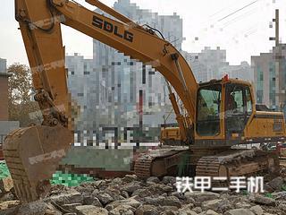 陕西-西安市二手山东临工E6210F挖掘机实拍照片