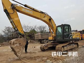 湖北-咸宁市二手神钢SK250-8挖掘机实拍照片