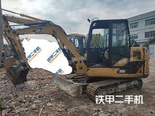 广东-广州市二手卡特彼勒306D液压挖掘机实拍照片