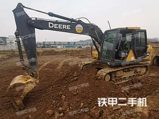 安徽-滁州市二手约翰迪尔E140LC挖掘机实拍照片