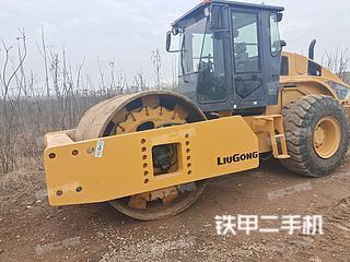 安徽-合肥市二手柳工CLG628H压路机实拍照片