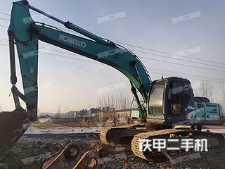 山东-淄博市二手神钢SK260LC-8挖掘机实拍照片