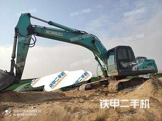 河南-信阳市二手神钢SK260LC-8挖掘机实拍照片