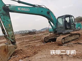 四川-绵阳市二手神钢SK250-8挖掘机实拍照片