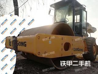 陕西-咸阳市二手柳工CLG6122压路机实拍照片
