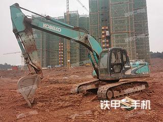 湖南-长沙市二手神钢SK210LC-8挖掘机实拍照片