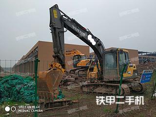 沃尔沃EC120DAG挖掘机实拍图片