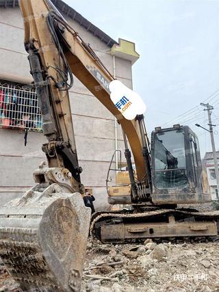 湖南-邵阳市二手三一重工SY135C挖掘机实拍照片