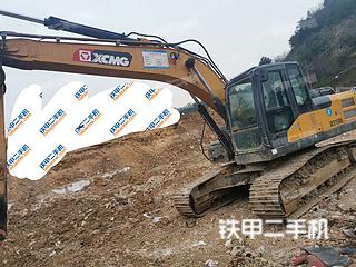 贵州-贵阳市二手徐工XE215CA挖掘机实拍照片