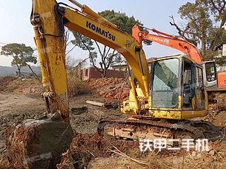 江西-宜春市二手小松PC110-7挖掘机实拍照片