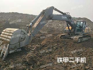 四川-眉山市二手约翰迪尔E360LC挖掘机实拍照片