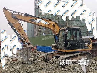 四川-内江市二手卡特彼勒313D挖掘机实拍照片