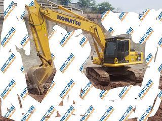 四川-达州市二手小松PC220-8挖掘机实拍照片