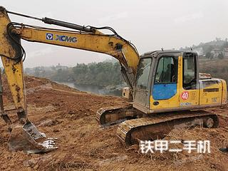 四川-广安市二手徐工XE135B挖掘机实拍照片