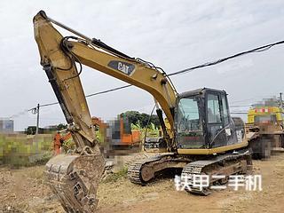 广西-南宁市二手卡特彼勒313D挖掘机实拍照片