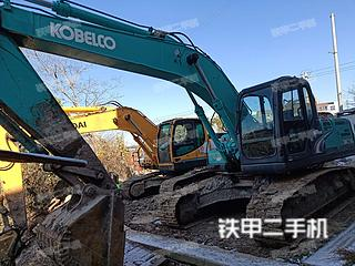 江苏-常州市二手神钢SK210LC-8挖掘机实拍照片