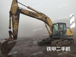 贵州-六盘水市二手神钢SK210LC-10挖掘机实拍照片